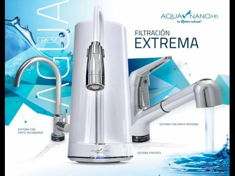 C mo funcionan los filtros de agua de rena ware aqua nano hd rena ware international youtube - Filtros para grifos de agua ...
