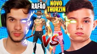 FUI X1 COM O NOVO THURZIN DO FREE FIRE!