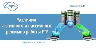 Отличия пассивного и активного режимов FTP | VPS.ua