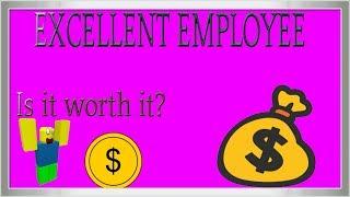 ROBLOX: Benvenuti a Bloxburg - dipendente eccellente è valsa la pena?