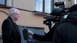 видео: Джон Байерли в Санкт-Петербурге 5 ноября 2009 года