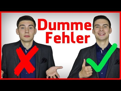 3 Dumme Rhetorik-Fehler, die du absolut vermeiden musst