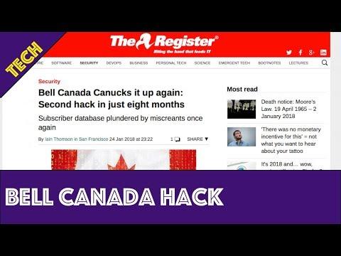 Bell Canada Hack 2018