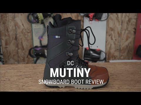 DC Mutiny 2019 Snowboard Boot Review - Tactics