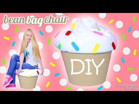 How To Make A Giant Cupcake Bean Bag Chair – DIY Cupcake Beanbag (easy tutorial)