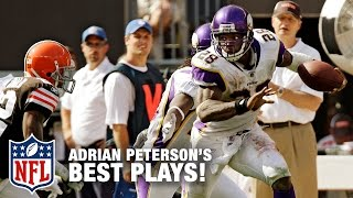 Adrian Peterson's Dominant Career Highlights | NFL