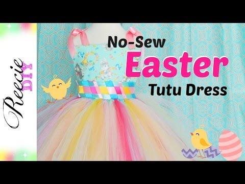 How to make an Easter Tutu Dress