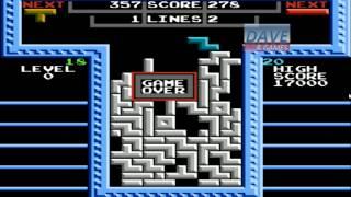Tetris NES - DAVE Retro