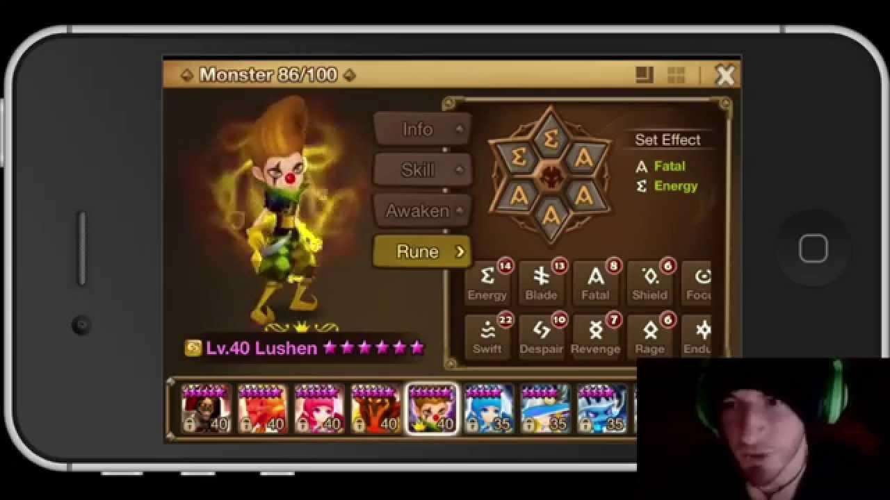 Runes Best Summoners War