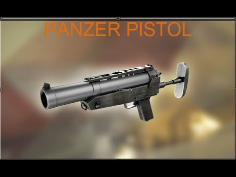 Red Crucible Reloaded : Panzer Pistol
