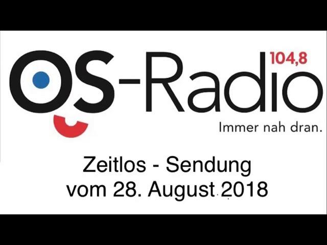 Zeitlos - Sendung vom 28. August 2018