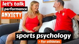 Sports and performance anxiety. Sports Psychology For Athletes I, ft Sport Psychologist Phil Johnson