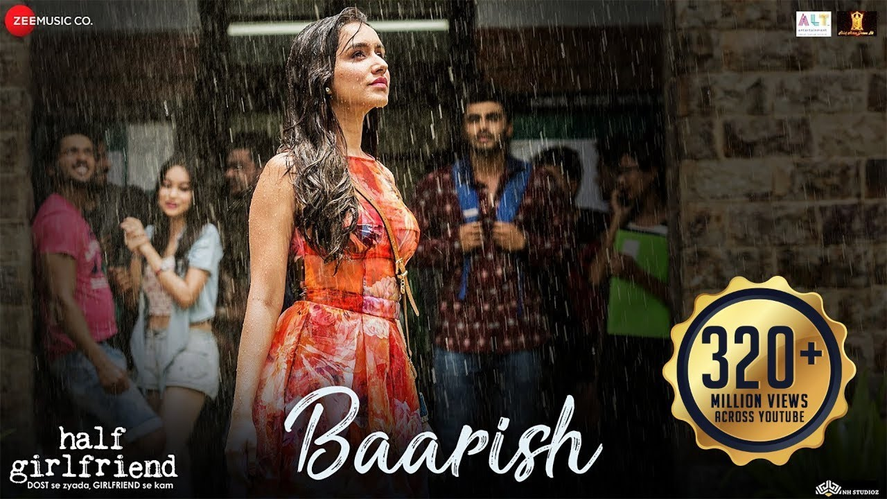 Download Baarish - Full Video | Half Girlfriend | Arjun Kapoor & Shraddha Kapoor| Ash King , Sashaa | Tanishk