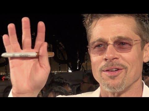 Brad Pitt/ War Machine Japan Premire