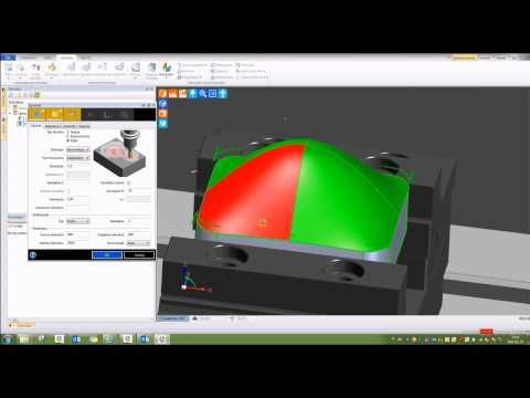 Nowa sekwencja frezowania i nowości Edgecam 2015 R1