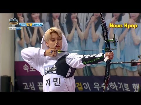 [ENG SUB] BTS , Legendary Archery Match 2017 Idol Star Athletics Championships