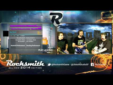 Rocksmith 2014 - Spinal Tap DLC - Live from Ubisoft Studio SF