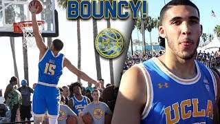 Liangelo Ball SHOWING OFF IMPROVED BOUNCE at UCLA Practice in VENICE BEACH! thumbnail