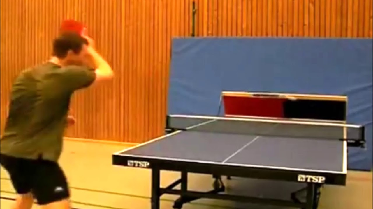0121a86f933f Returnboard equipment Germany - best table tennis for you - YouTube