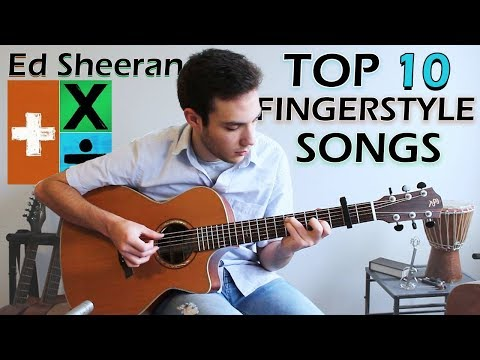 Ed Sheeran | TOP 10 FINGERSTYLE Guitar Songs