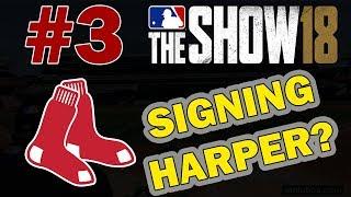 CAN WE SIGN HARPER?? BOSTON RED SOX FRANCHISE EPISODE 3