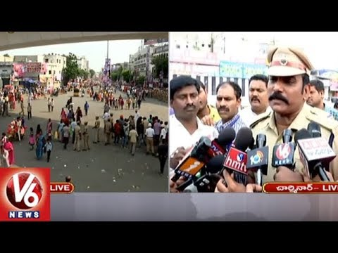 DCP Satyanarayana About Security Arrangements In Old City | Ganesh Immersion 2018 | V6 News