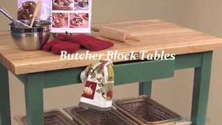 Butcher Block Tables, Islands & Carts | Butcher Block Co.