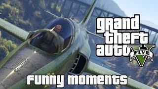 Grand Theft Auto 5 Funny Moments (pc)