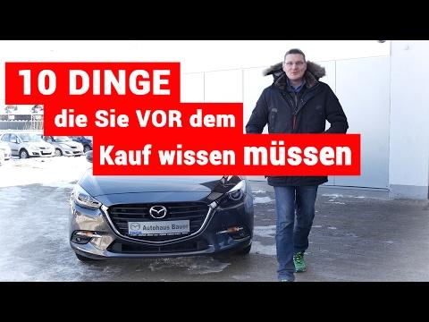 Mazda 3 Upgrade 2017 - 10 Dinge die Sie vor dem Kauf wissen müssen - test deutsch - review