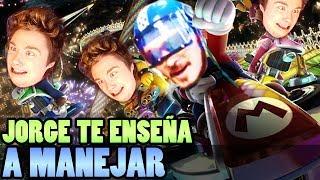 JORGE TE ENSEÑA A MANEJAR (DeiGamer VS. JORGE PRO PLAYER NAMBER GUAN)