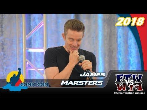 James Marsters Buffy, Angel, Torchwood, Runaways London Comic Con 2018