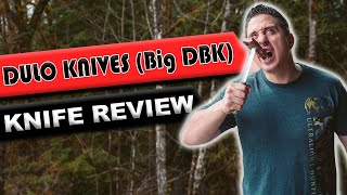 Dulo Knives (Big DBK) | The Bushcraft Beast Knife!