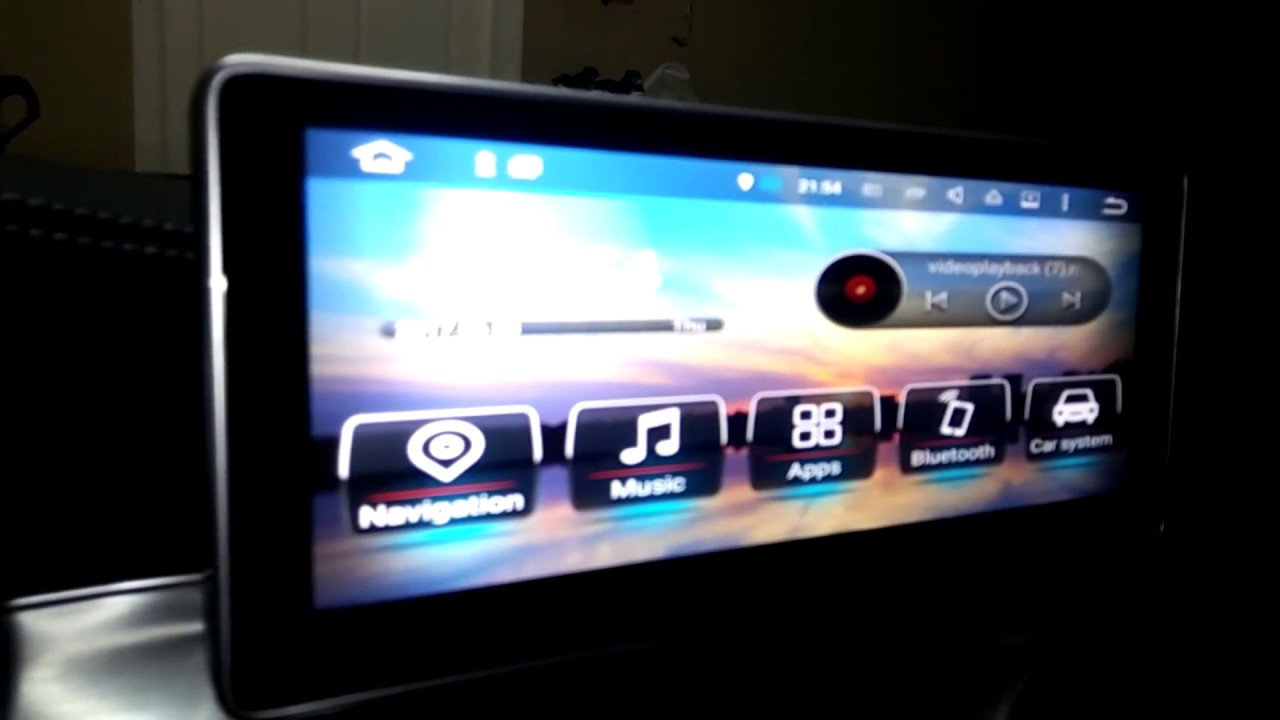 W205 Touch Screen