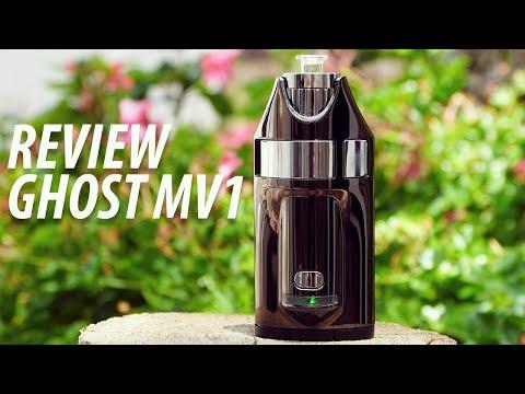 Review Ghost MV1 vaporizador de convección para hierbas y concentrados