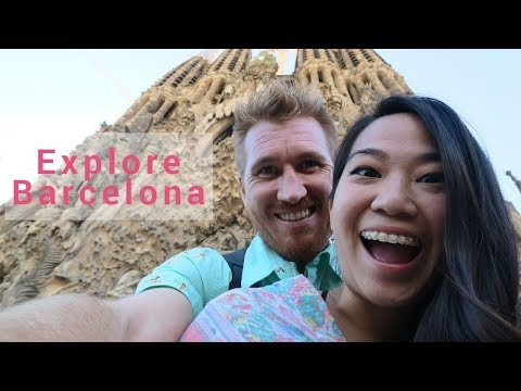 🏰 EXPLORING BARCELONA | GAUDI BUILDINGS | SAGRADA FAMILIA