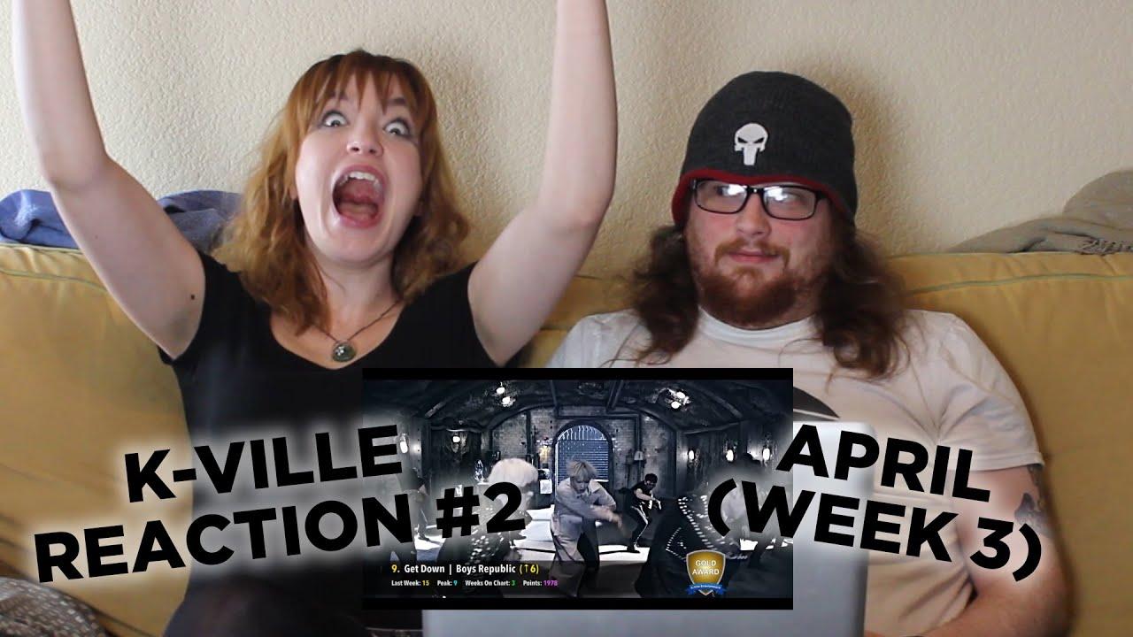 K-Ville TOP 50 K-Pop Charts Reaction #2 - April 2016 (Week 3)