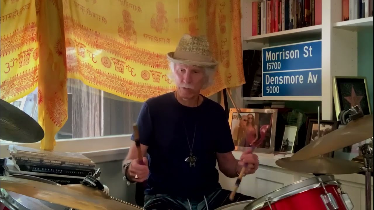 """John Densmore Drum Lesson - """"Riders On The Storm"""""""