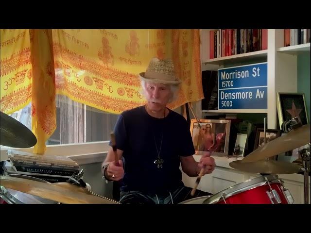 John Densmore Drum Lesson -