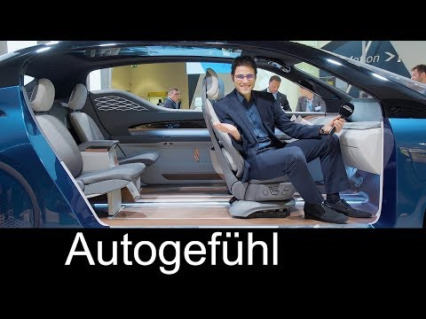 Car interior of the future FEATURE XIM18 Concept Yanfeng Automotive Interiors