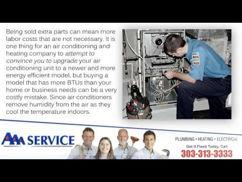 How to Find a Trustworthy Air Conditioning and Heating Company - Denver, Colorado