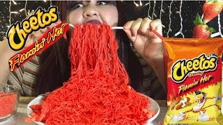 hot cheetos noodles mukbang wendy s eating show