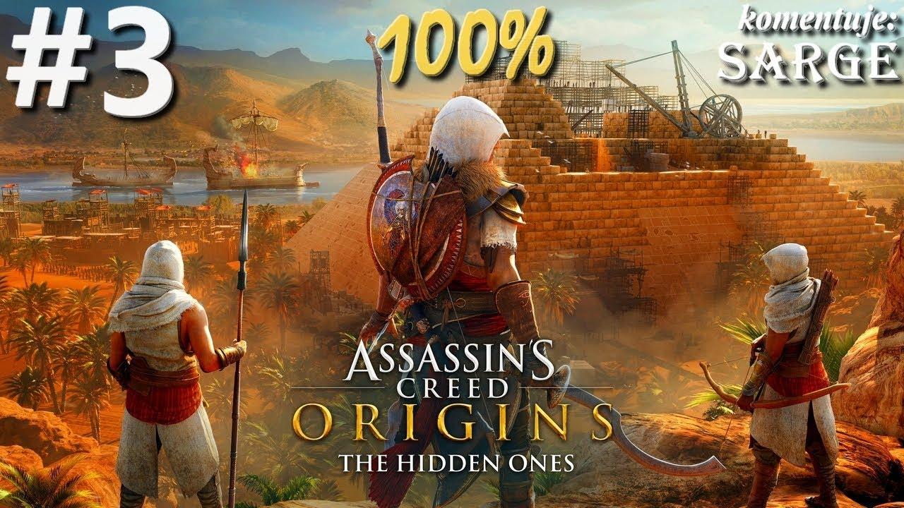 Zagrajmy w Assassin's Creed Origins: The Hidden Ones DLC (100%) odc. 3 – Powstanie Shaqilat