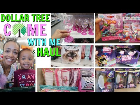 COME WITH ME TO DOLLAR TREE + HAUL! OCTOBER 23 2018