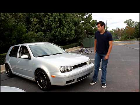 Walk around the project Golf Mk4 car ( 0 to 60 times)