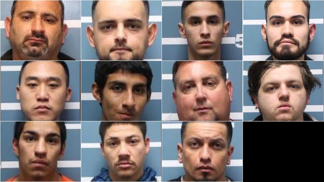 11 suspected sexual predators arrested in 'To Catch a Predator' style sting in Tulare Coun