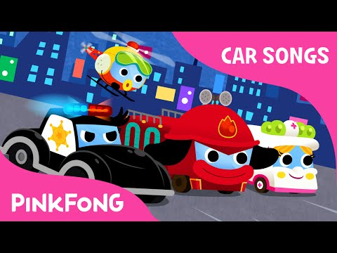 Super Rescue Team | Car Songs | PINKFONG Songs for Children