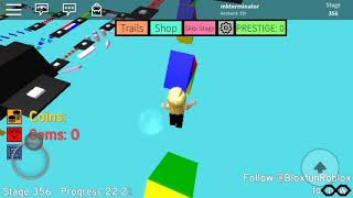 Roblox (1605) Mega fun obby stages 356 - 369