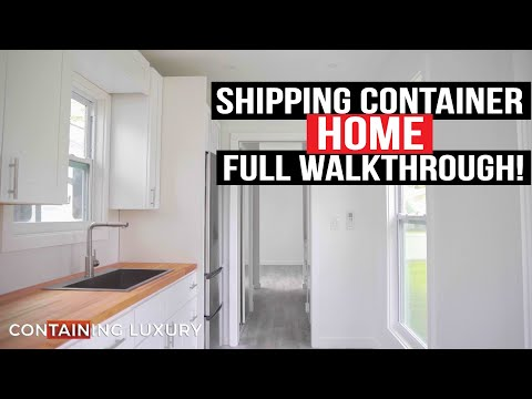 Our Shipping Container Home: FULL TOUR!