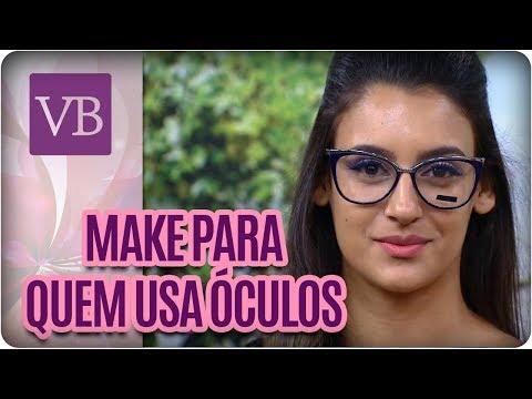 Maquiagens Que Combinam Com Óculos - Você Bonita (22/03/18)