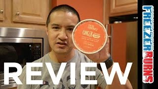 Phin & Phebes Ginger Snap Cookie Ice Cream Video Review: Freezerburns (ep689)